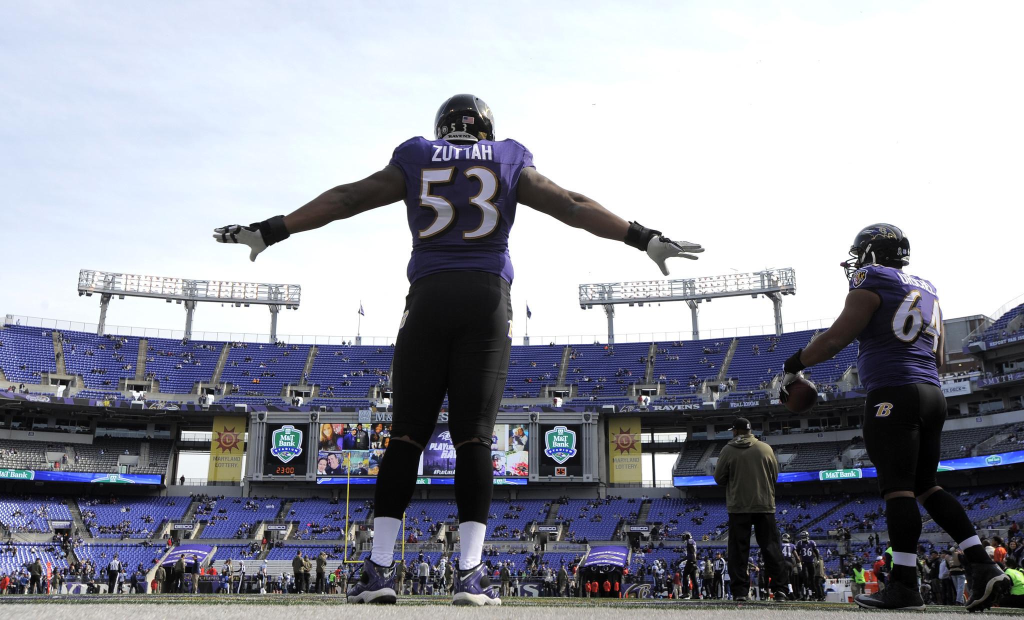 Jeremy Zuttah Ravens