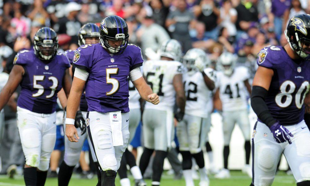 Ravens vs Raiders