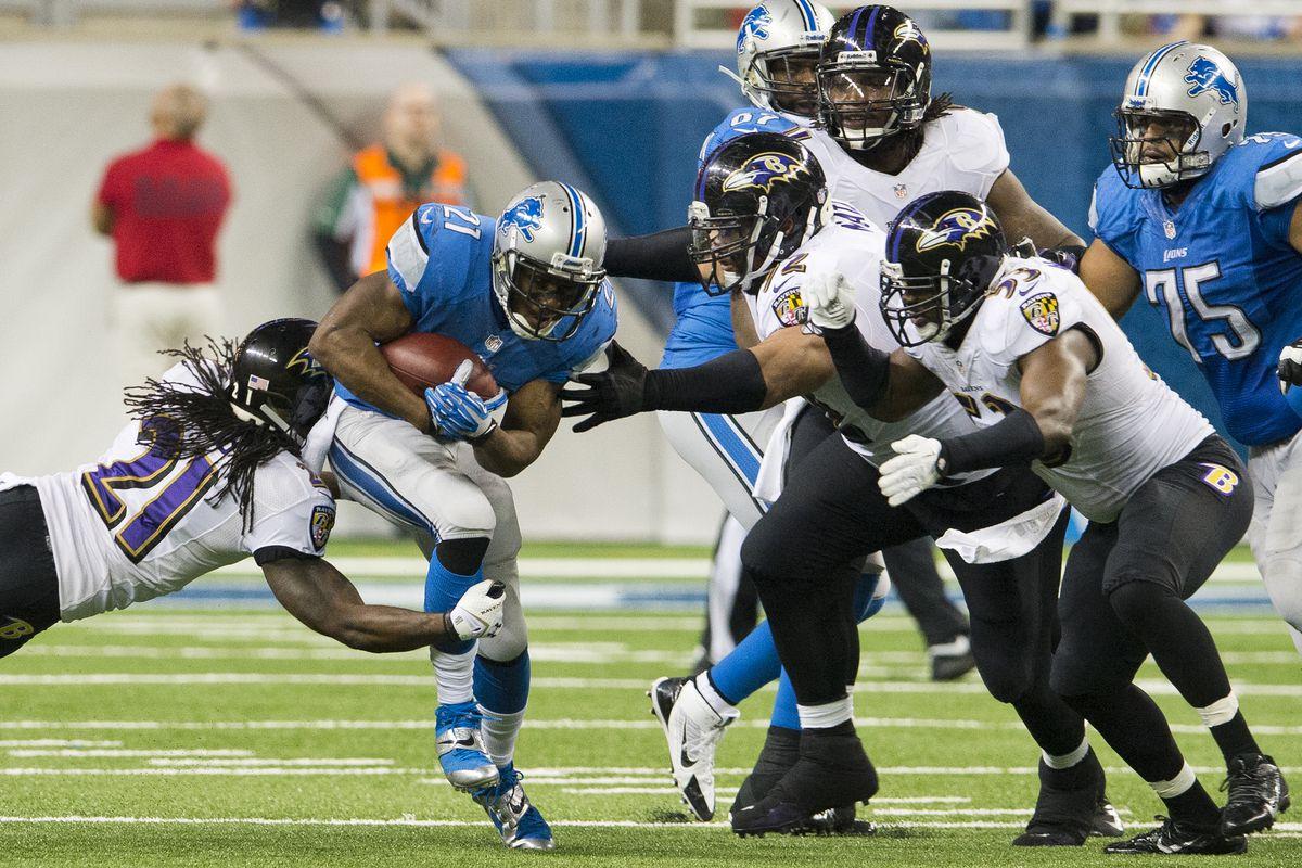 Ravens vs Lions