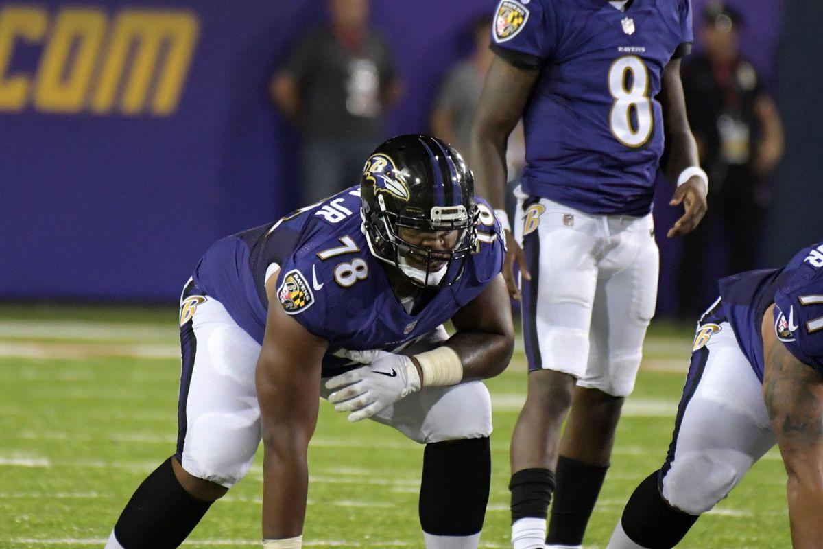 Orlando Brown Jr. Ravens