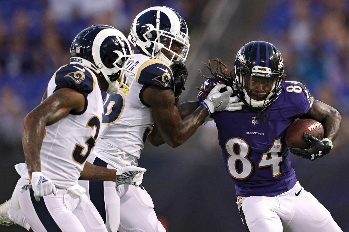 Ravens Rams Preseason