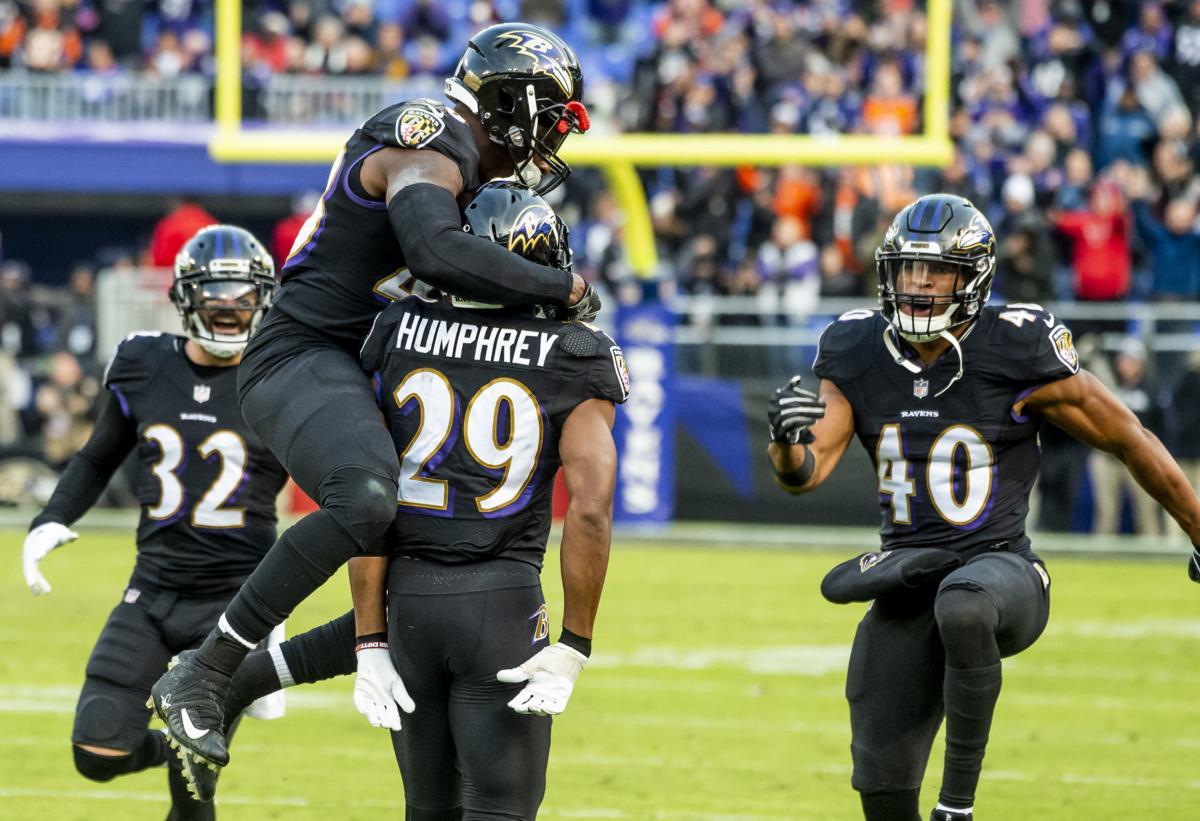 Marlon Humohrey Ravens Playoff Chances