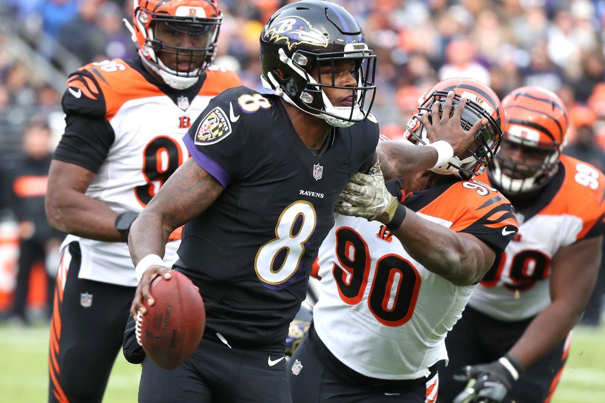 Ravens Bengals Week 11 2018