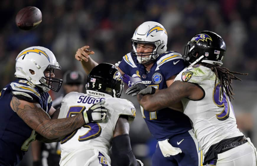 Ravens Chargers Review