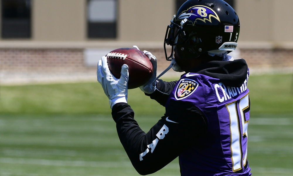 Ravens Wide Receivers Draft Free Agency