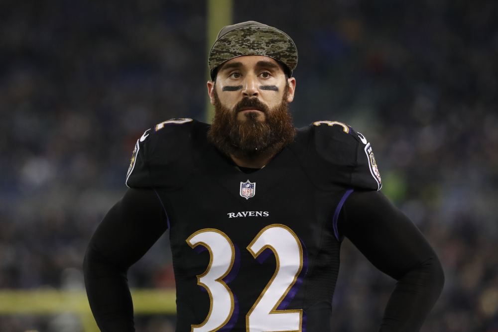 Eric Weddle Ravens Retirement