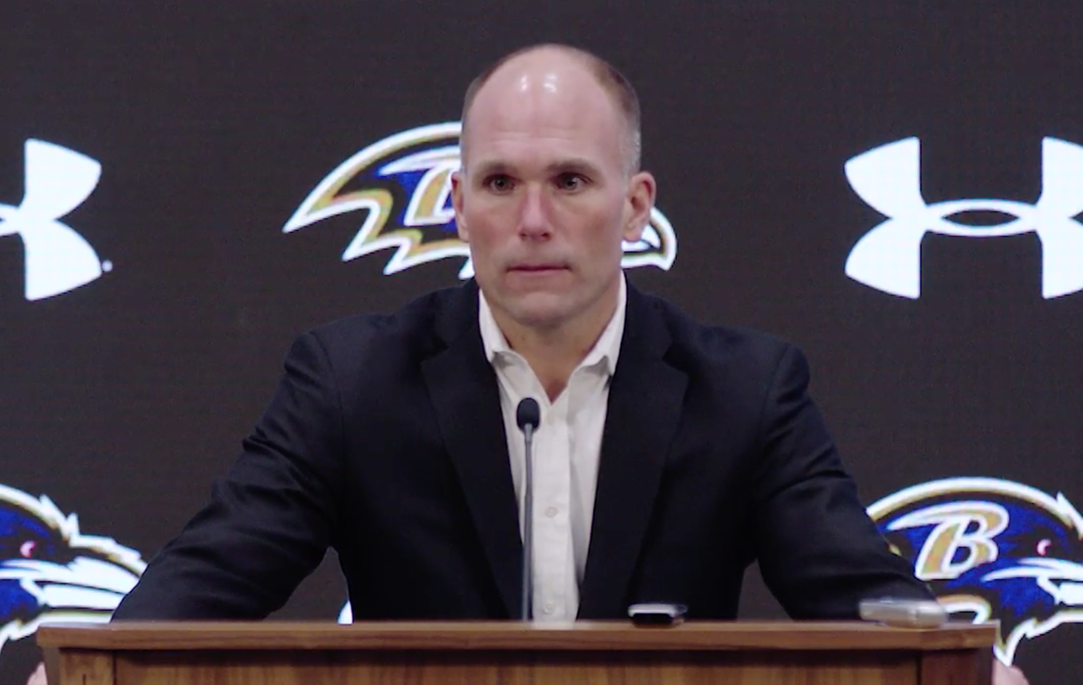 Eric DeCosta Ravens General Manager Press Conference
