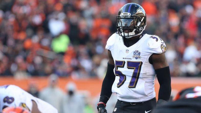 CJ Mosley Ravens Inside Linebackers