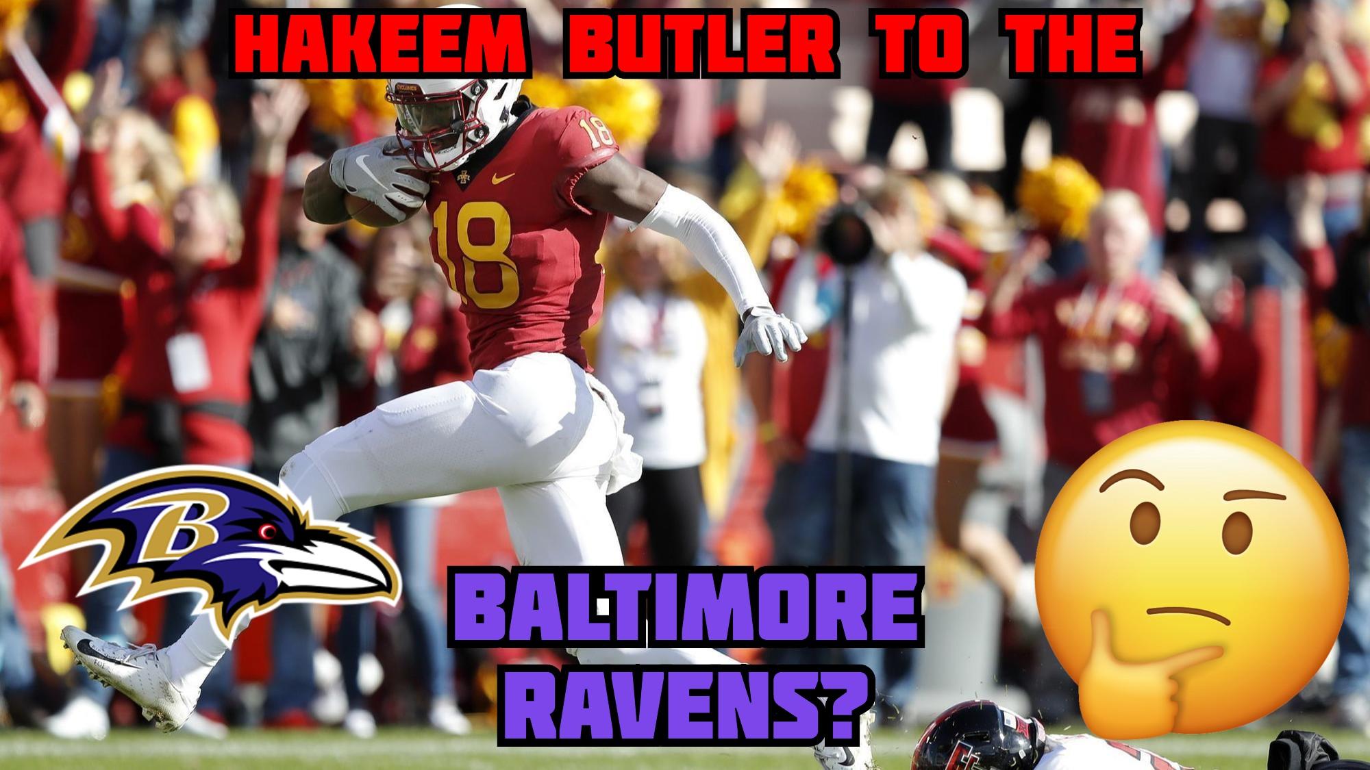 Hakeem Butler Baltimore Ravens
