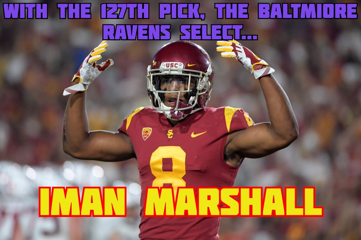 Iman Marshall Baltimore Ravens