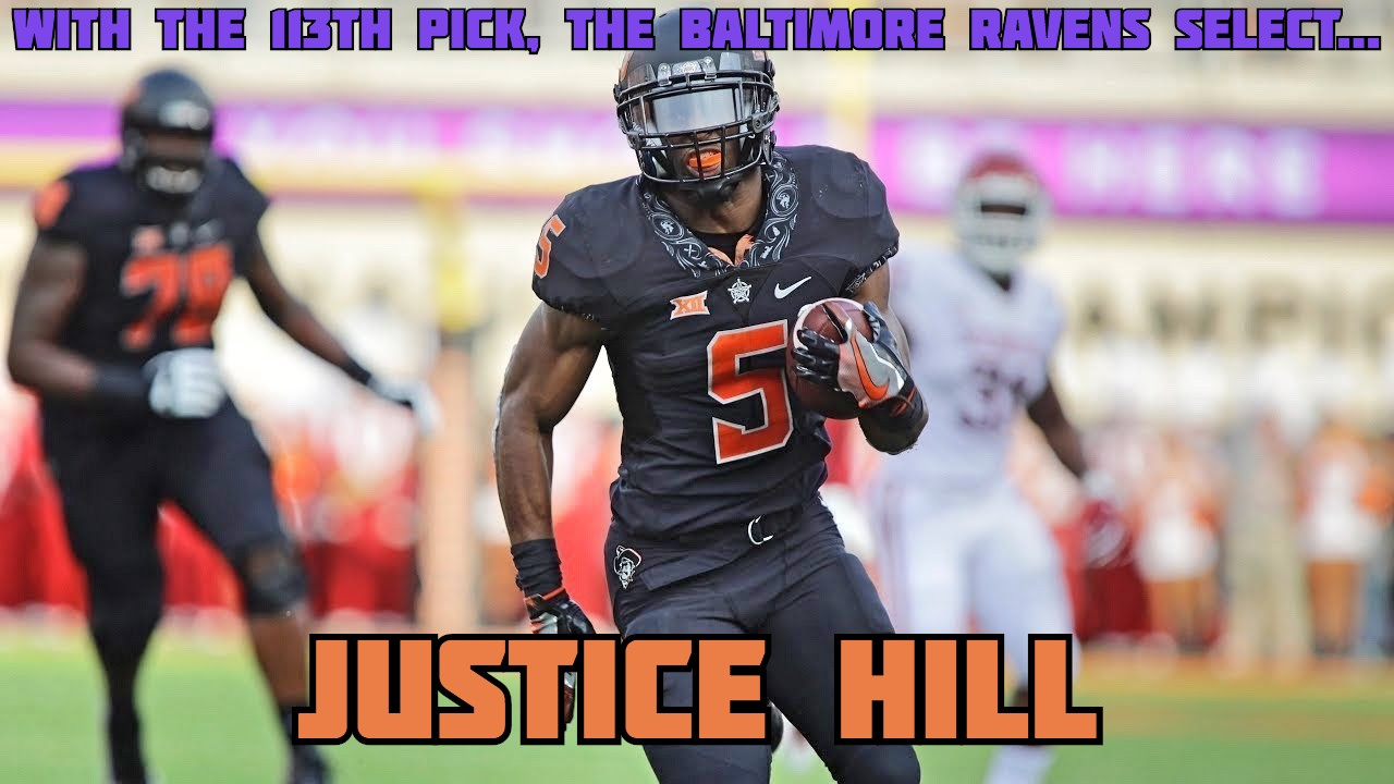 Justice Hill Baltimore Ravens