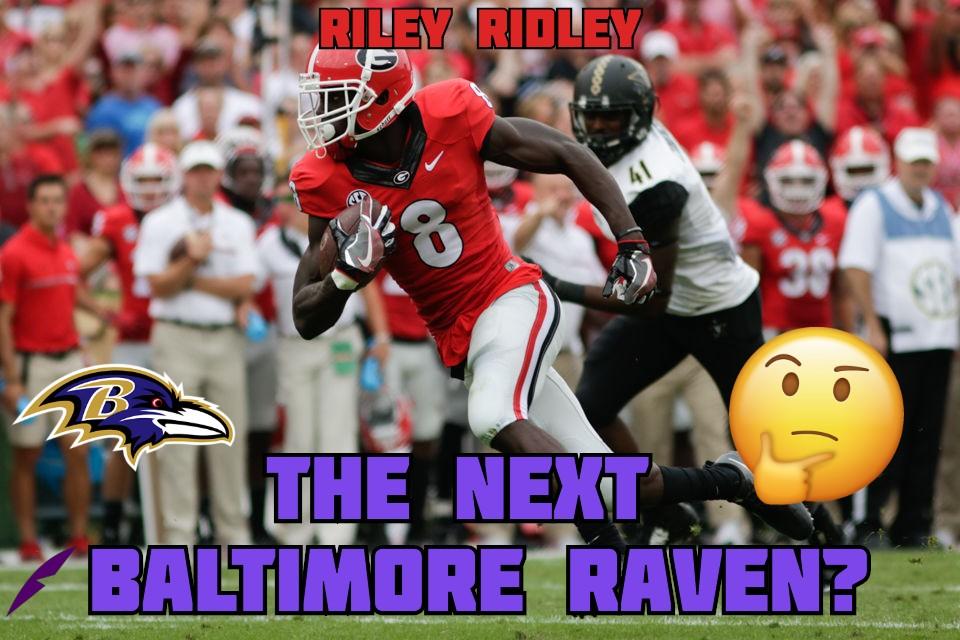 Riley Ridley Baltimore Ravens