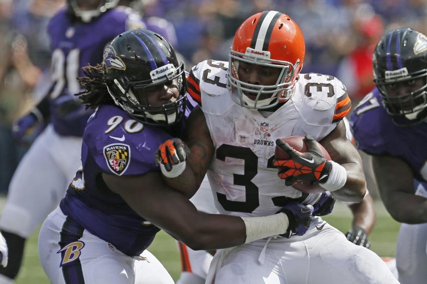 Pernell McPhee Baltimore Ravens