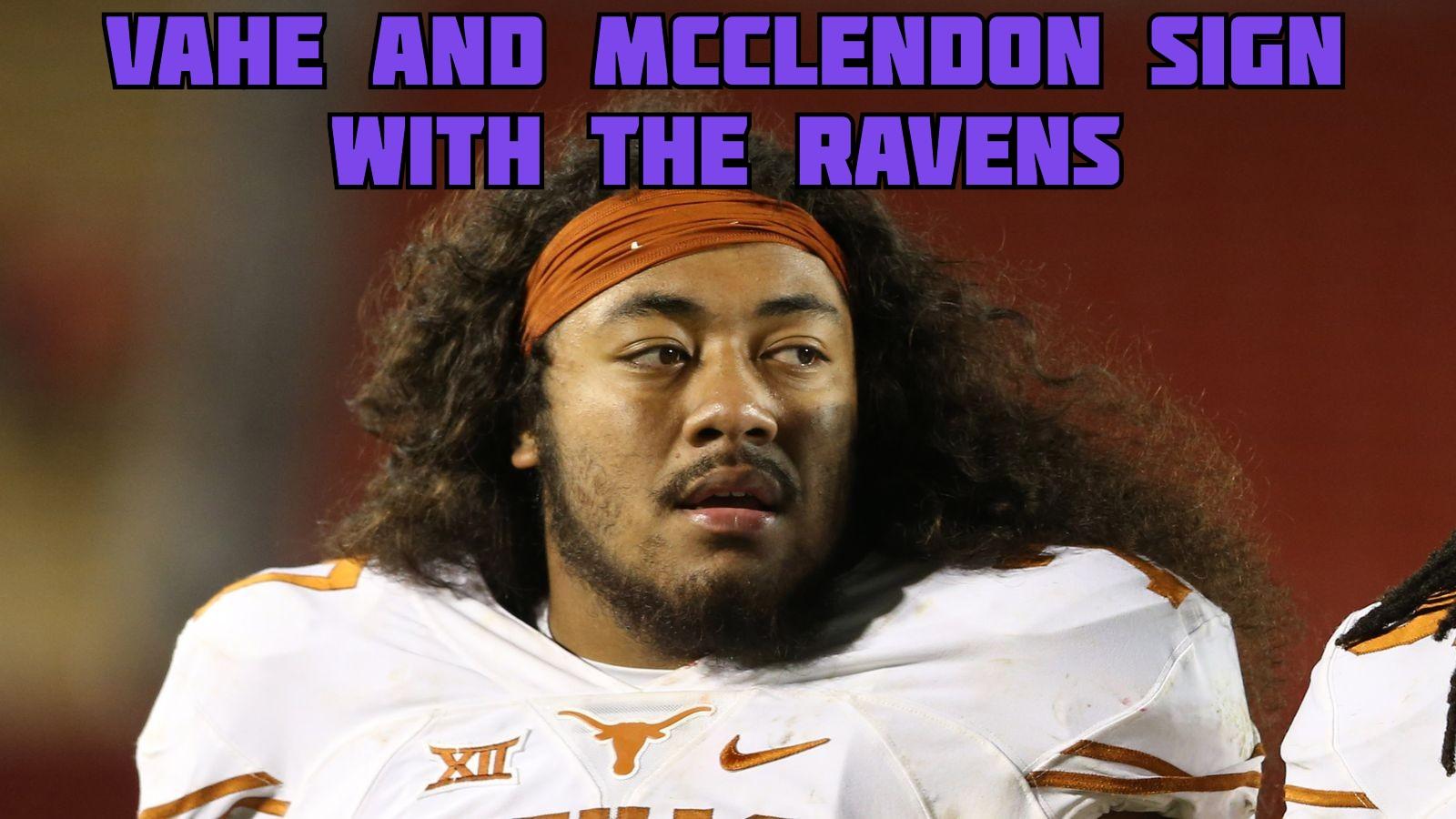 Jalan McClendon Patrick Vahe Baltimore Ravens