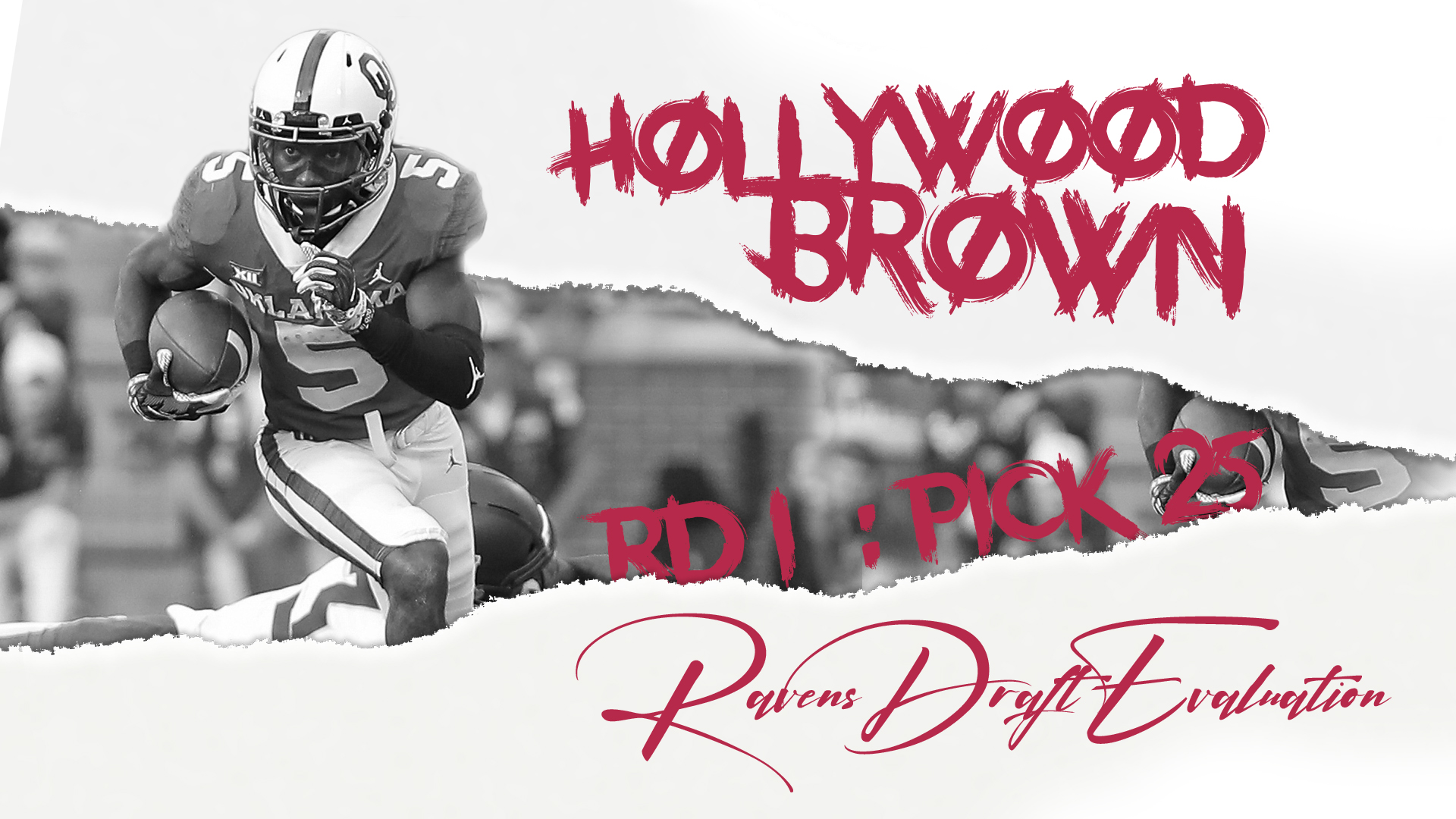 Marquise Hollywood Brown Baltimore Ravens