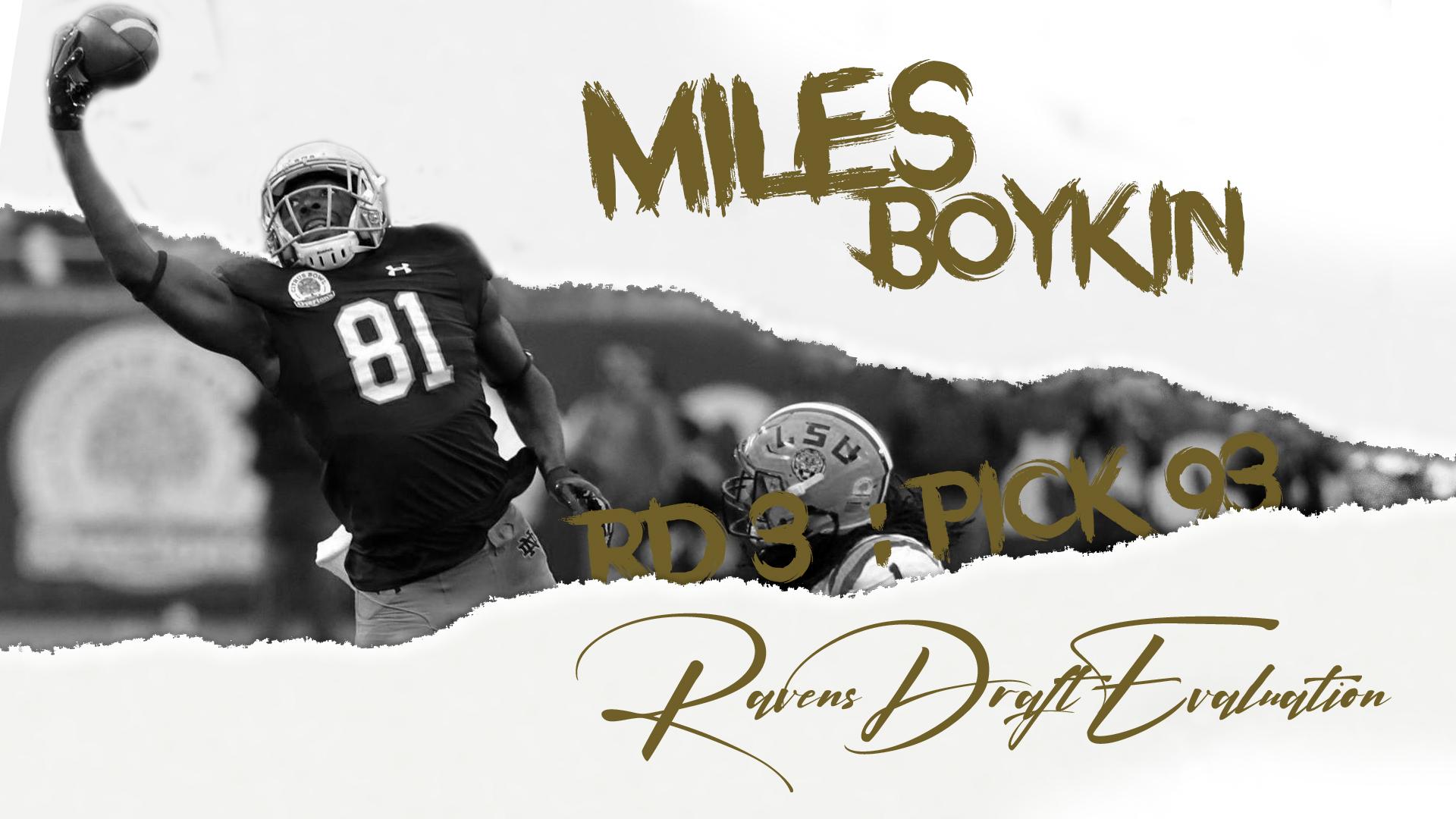 Miles Boykin Ravens