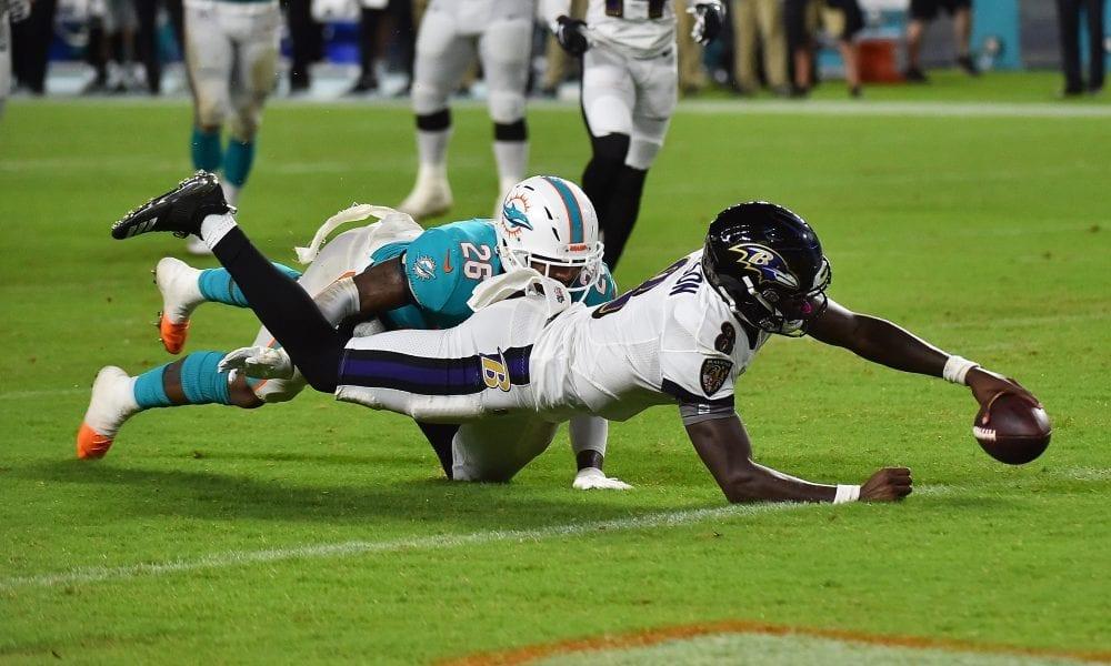 Ravens Dolphins 2019