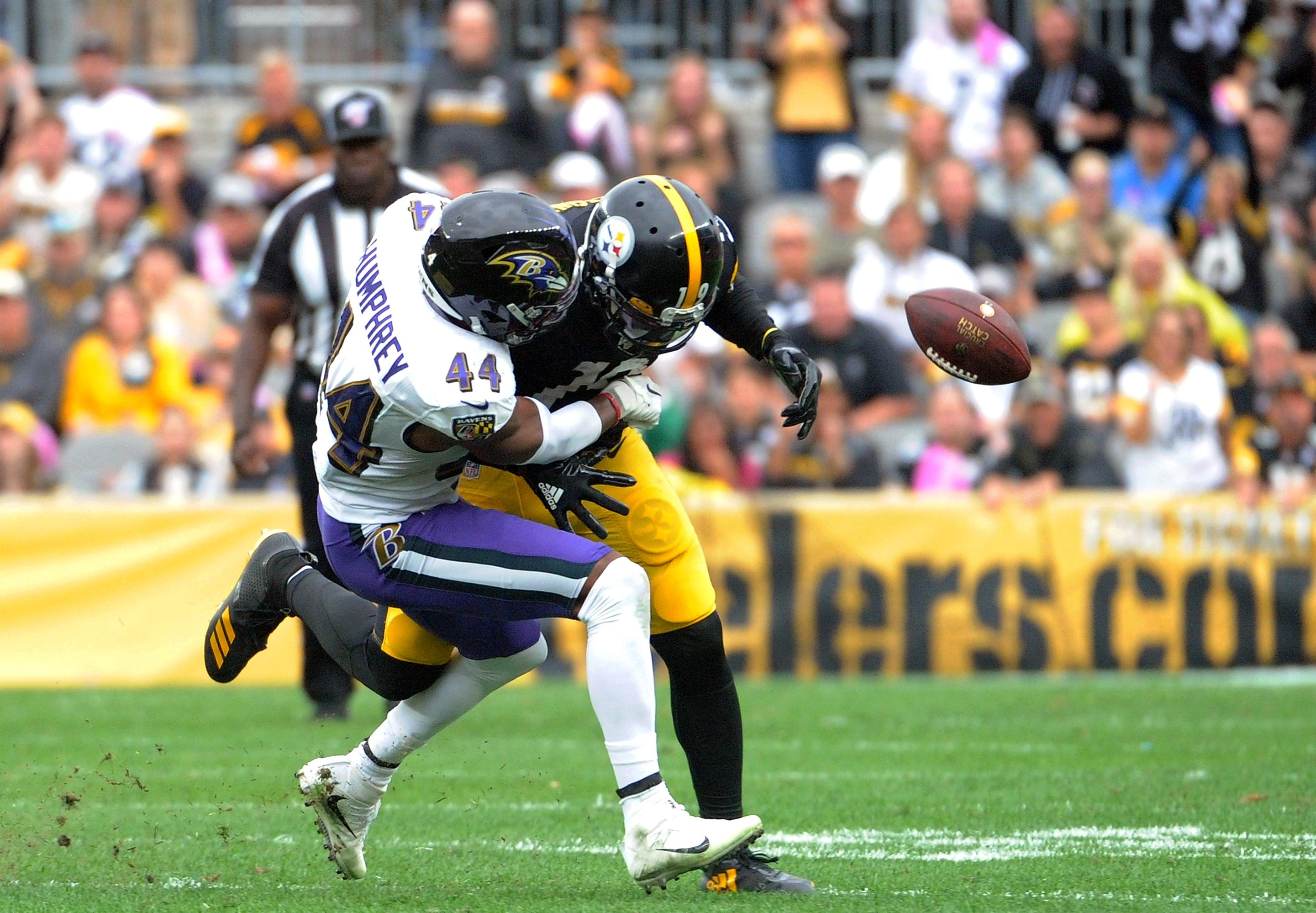 Ravens Steelers Marlon Humphrey