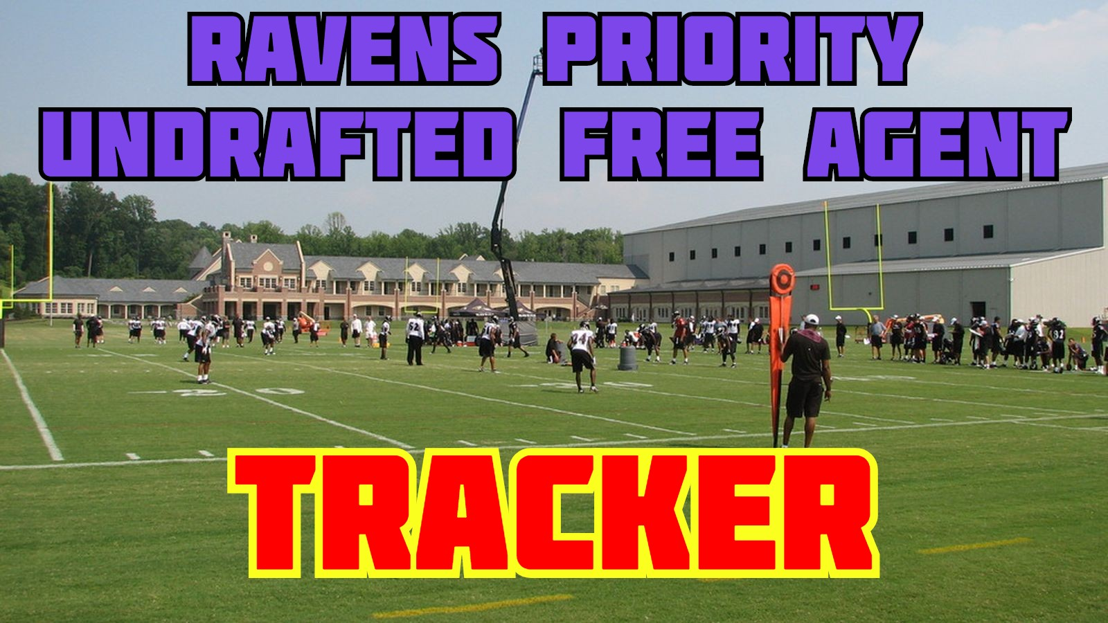 Baltimore Ravens Undrafted Free Agents 2019